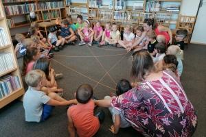 Mateřská škola v naší knihovně - ČERVEN 2021